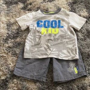 Toddler shorts set